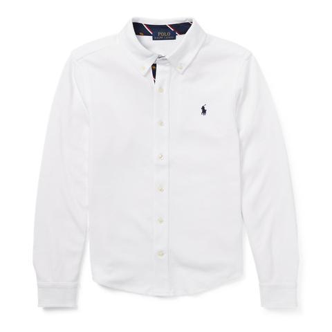 Camisa De Algodón Interlock