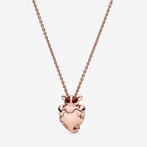 collana con pendente cuore pandora