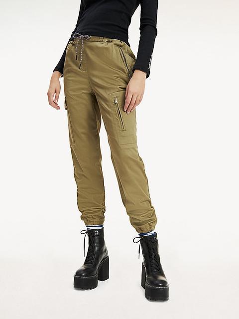 Pantalón Cargo De Algodón Elástico de Tommy Hilfiger en 21 Buttons