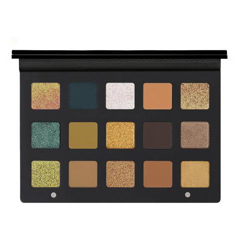 Gold Palette Paleta De Sombras De Ojos de Sephora en 21 Buttons