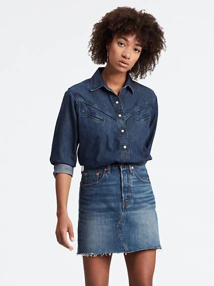 Dori Western Shirt Azul / Blue de Levi's en 21 Buttons