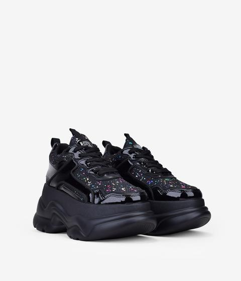 Bosanova - Zapatillas Negras Plataforma Xxl - Color: Negro - Talla 41 de Bosanova en 21 Buttons