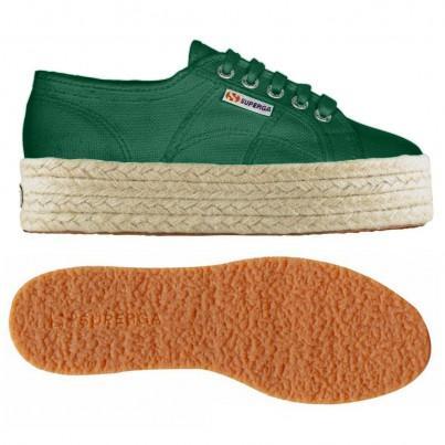 2790-cotropew, 12910, Lady Shoes S0099z0 Wqe Green Teal de Superga en 21 Buttons