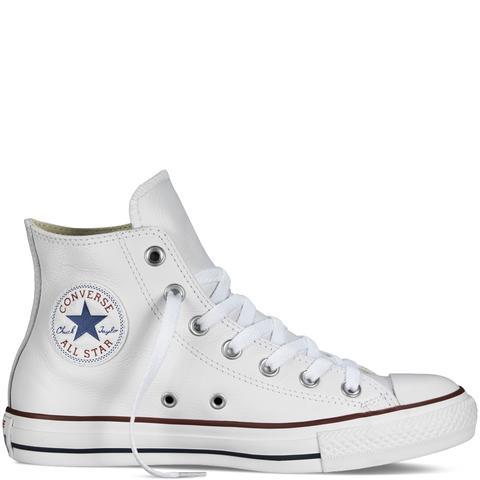 Converse Chuck Taylor All Star Leather White de Converse en 21 Buttons