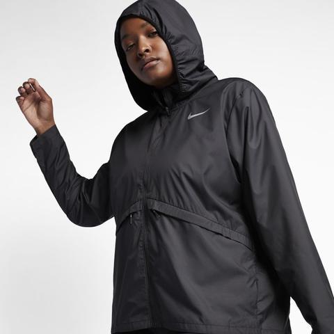 vendita all'ingrosso nuovo massimo rivenditore di vendita Nike Plus Size - Giacca Da Running Essential - Donna - Nero from Nike on 21  Buttons