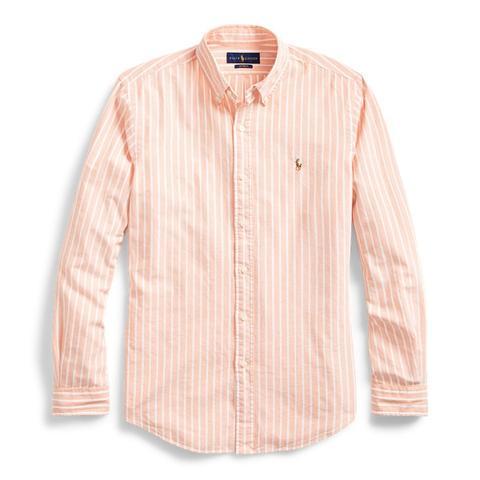 Camisa Oxford A Rayas Slim Fit de Ralph Lauren en 21 Buttons