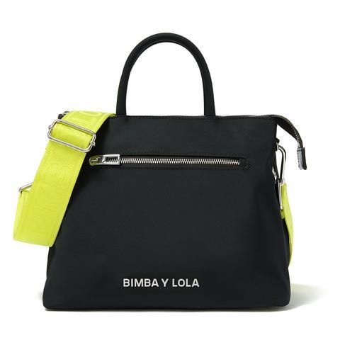 nuevo concepto hermosa en color garantía limitada Bolso Tote Grande Antracita de Bimba Y Lola en 21 Buttons