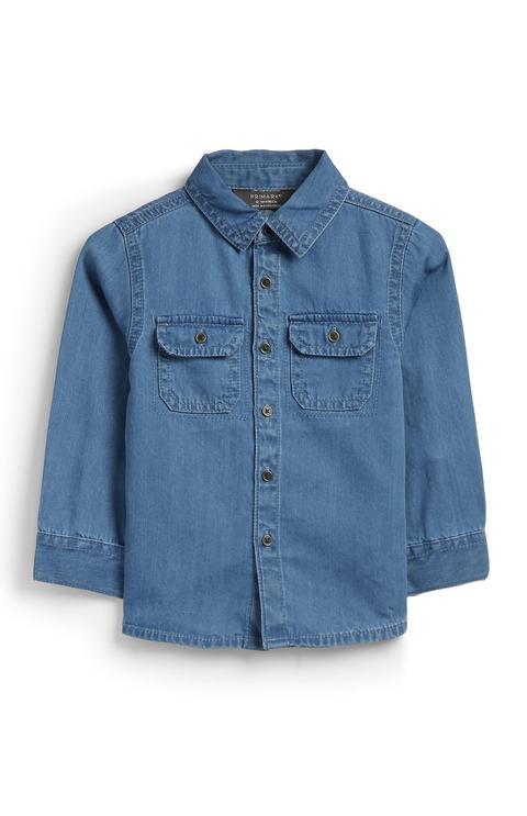 Camisa Vaquera De Bebé Niño