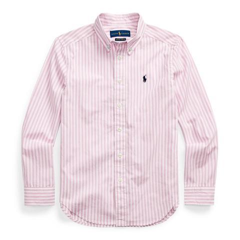 Camisa De Rayas En Popelina De Algodón de Ralph Lauren en 21 Buttons