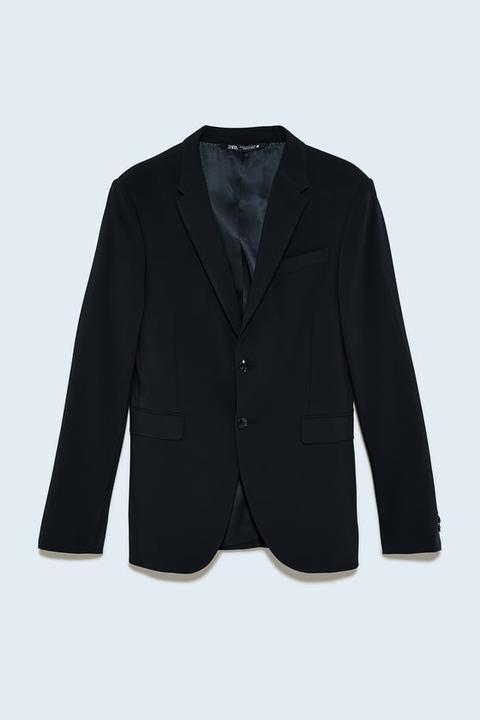 Blazer Traje Conjunto Traveler de Zara en 21 Buttons