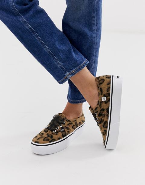 vans leopardate