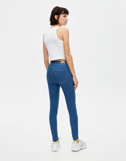 Jeans Skinny Talle Alto
