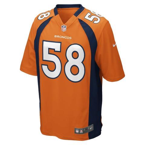 Nfl Denver Broncos (von Miller) Camiseta De Fútbol Americano - Hombre - Naranja de Nike en 21 Buttons