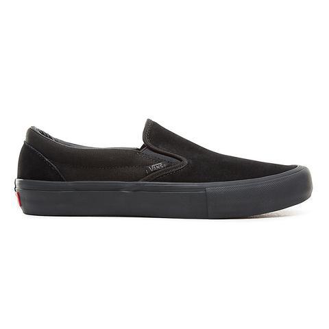 Vans Zapatillas Slip-on Pro (blackout) Mujer Negro de Vans en 21 Buttons