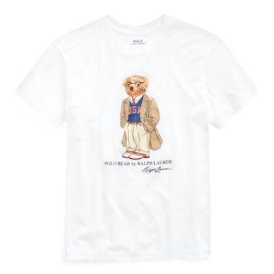 Camiseta De Algodón Con Polo Bear