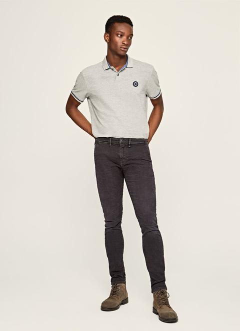 Pantalones Chinos Desgastados James de Pepe Jeans en 21 Buttons