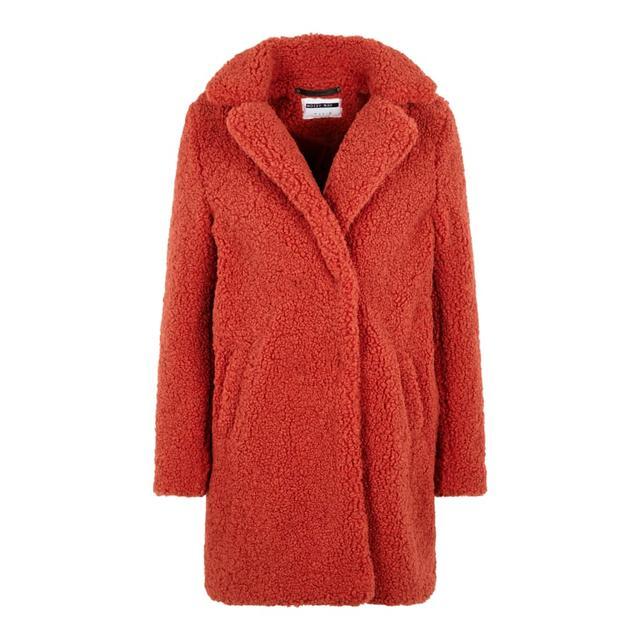 Damen Oversize Teddy Pelzmäntel Faux Lang Winter Langarm 21 from Warmer Fur Grau Mantel Mode Cichic Umlegekragen Buttons Taschen on tQhrdxsC