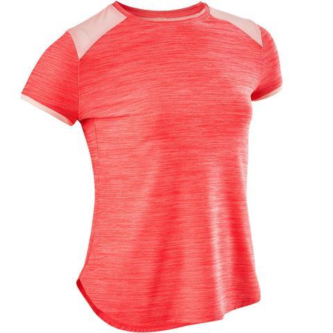 talla 40 precio de calle patrones de moda Camiseta Manga Corta Deportiva Gimnasia Domyos S500 Niña Turquesa de  Decathlon en 21 Buttons