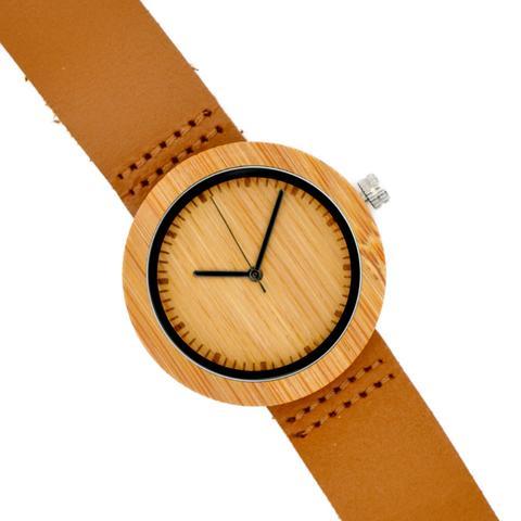 Reloj De Madera De Bambú Para Chica Nator de Woodenson en 21 Buttons
