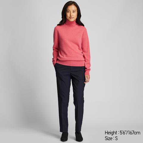 Jersey Cashmere Cuello Alto Mujer de Uniqlo en 21 Buttons