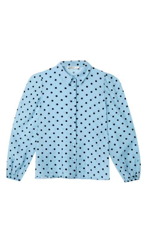 Camisa Manga Abullonada