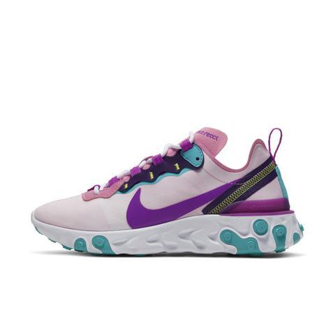 Nike React Element 55 Zapatillas - Mujer - Rosa de Nike en 21 Buttons