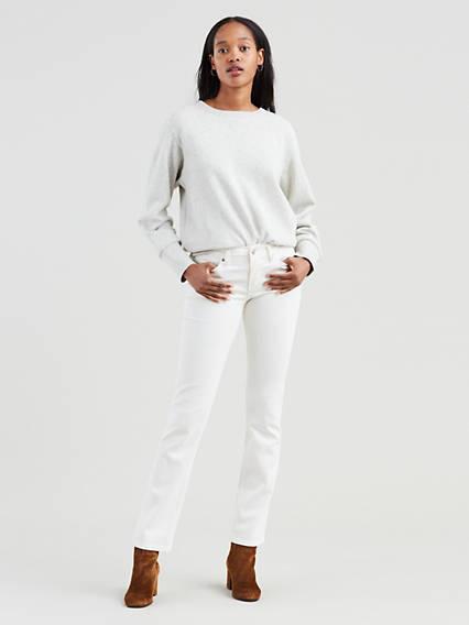 712™ Slim Jeans Blanco / Western White de Levi's en 21 Buttons