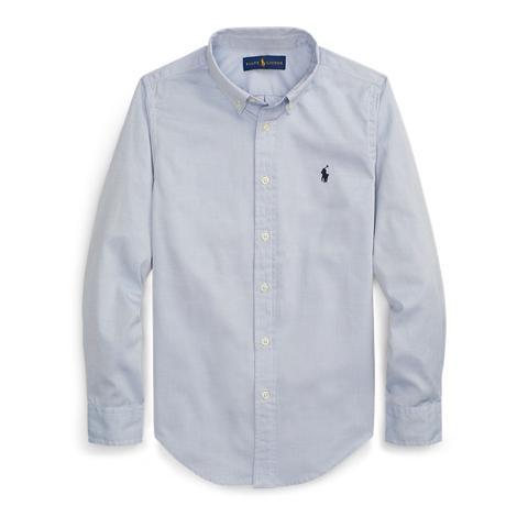 Camisa Oxford Custom Fit de Ralph Lauren en 21 Buttons