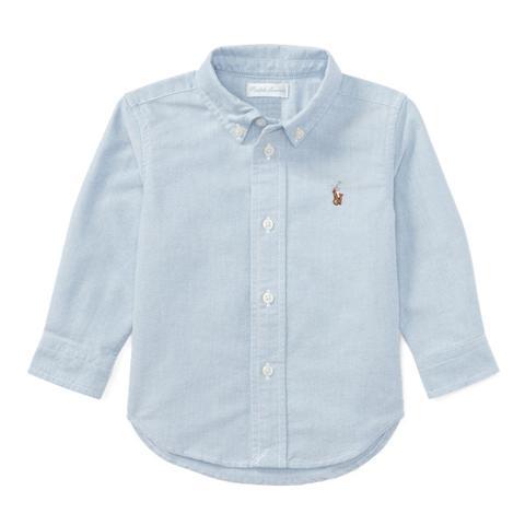Camisa Oxford De Algodón de Ralph Lauren en 21 Buttons
