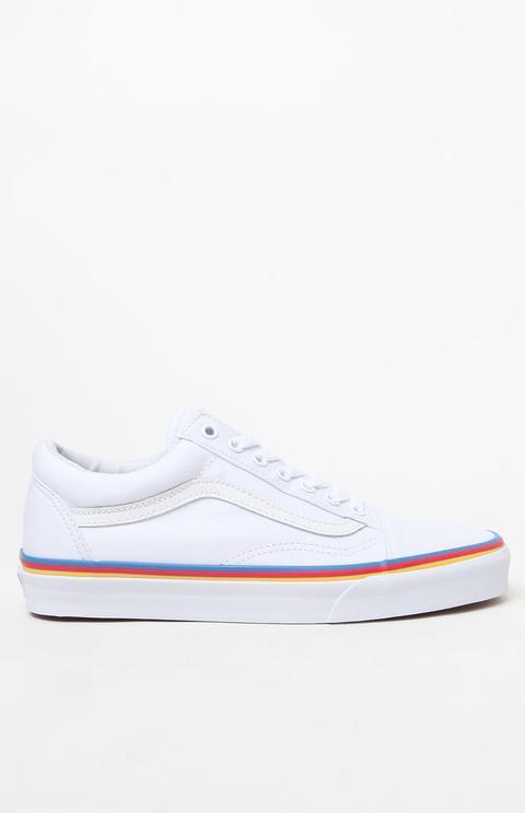 Rainbow Foxing Old Skool Sneakers