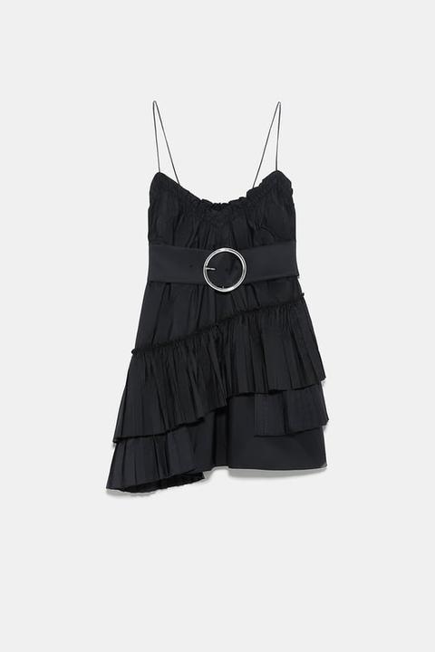 Vestido Mini Cinturón
