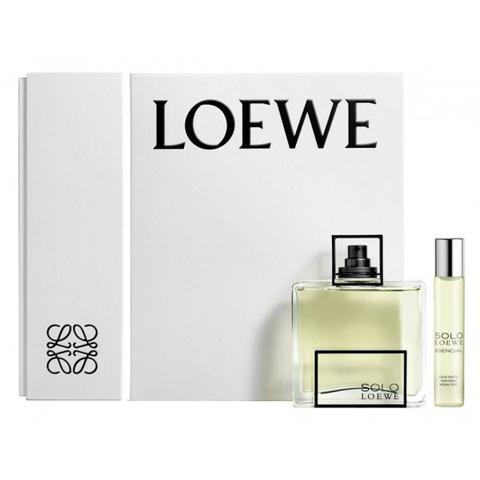 Solo Loewe Esencial Estuche de Primor en 21 Buttons