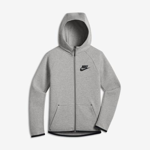 Nike Sportswear Tech Fleece Chaqueta Con Cremallera Completa - Niño/a - Gris de Nike en 21 Buttons