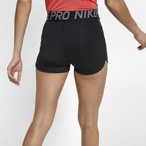 Nike Pro Intertwist Pantalón Corto De 8 Cm - Mujer - Negro
