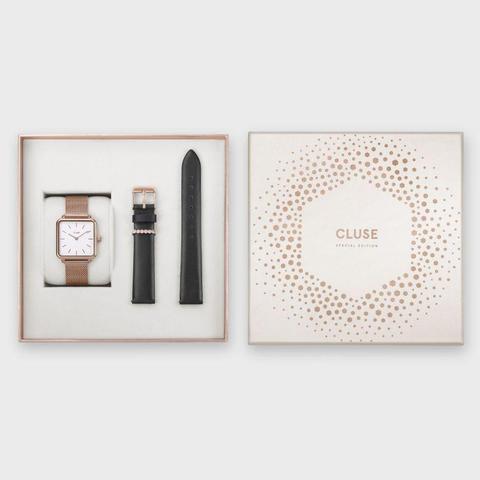 Special Edition La Tétragone Rose Gold Mesh/black Gift Box