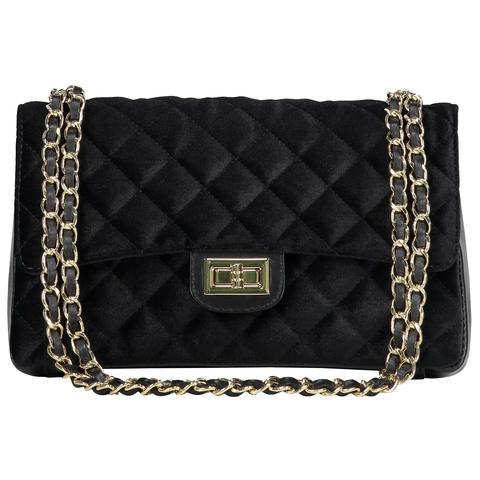 Velvet Bag Black Gold from Fashion Drug on 21 Buttons