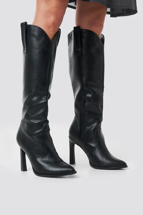 Na-kd Shoes Calf High Cowboy Boots