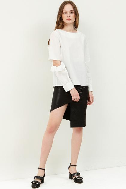 Molly Cut Out Skirt de Storets en 21 Buttons