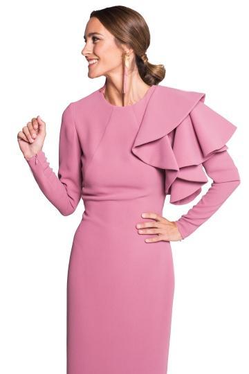 Vestido Ava Pink de La Mas Mona en 21 Buttons