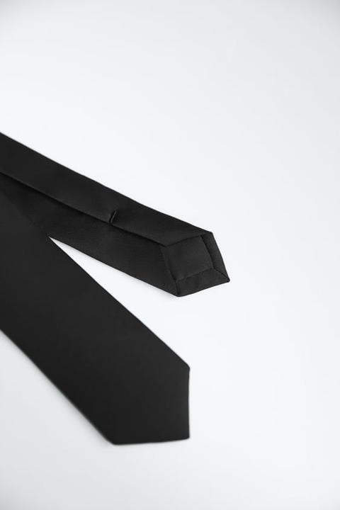 Corbata Estrecha Satinada