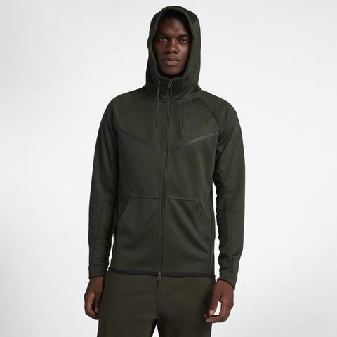 Manchester City Tech Fleece Herren hoodie Mit Durchgehendem