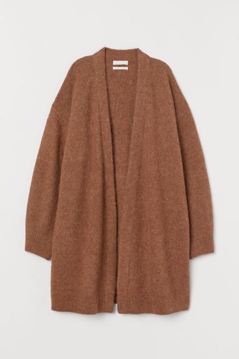 Cárdigan En Mezcla De Lana - Beis de H&M en 21 Buttons