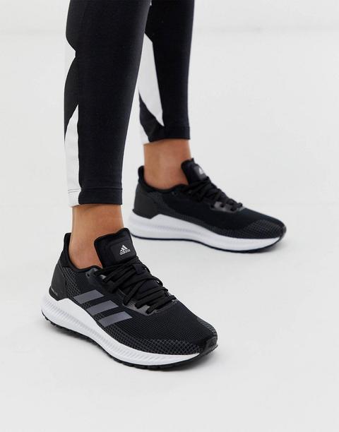 Persistencia Increíble domesticar  Zapatillas Negras Solar Blaze De Adidas Running-negro from ASOS on 21  Buttons