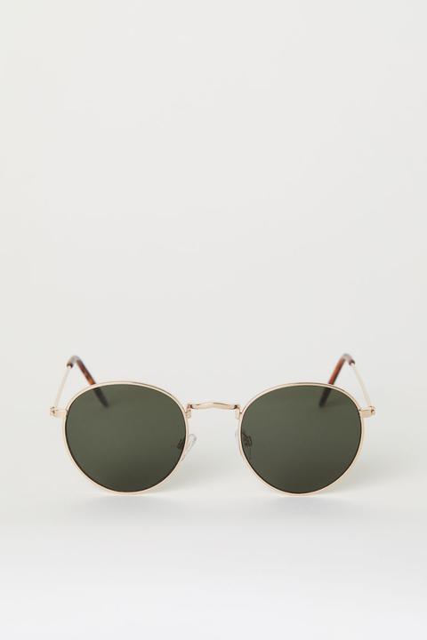 Gafas De Sol - Oro