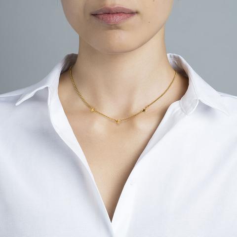 Gold Mini Stars Necklace