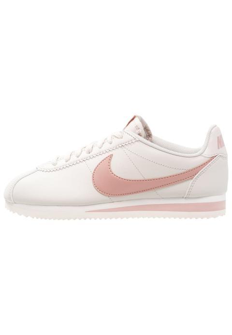 nike cortez light bone particle pink