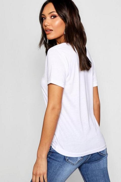 Basic Supersoft V Neck T-shirt