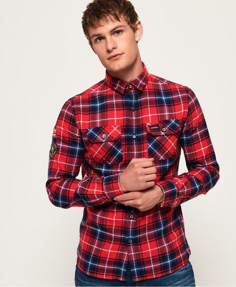 Camisa Ligera Lumberjack de Superdry en 21 Buttons