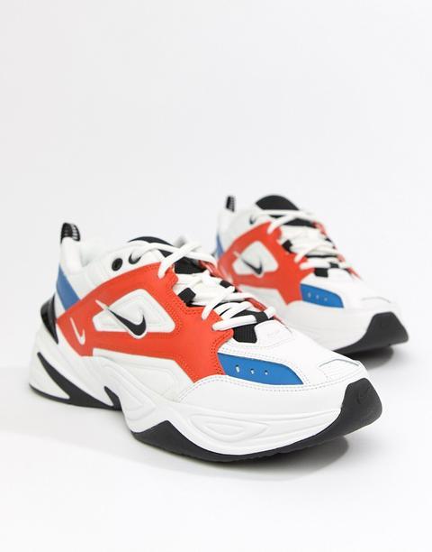 Nike - M2k Tekno - Sneakers Bianche Av4789-100 - Bianco de ASOS en 21 Buttons