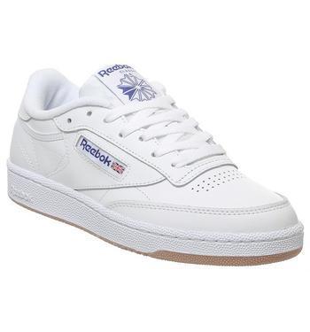 Reebok Club C 85 White Royal Gum from
